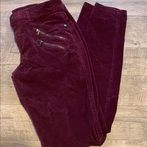 New York & Co. burgundy pants size 4
